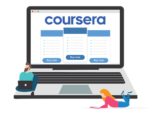 Coursera cost banner