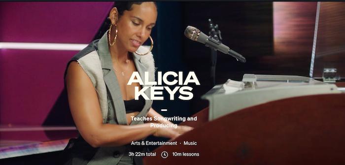 MasterClass Alicia Keys