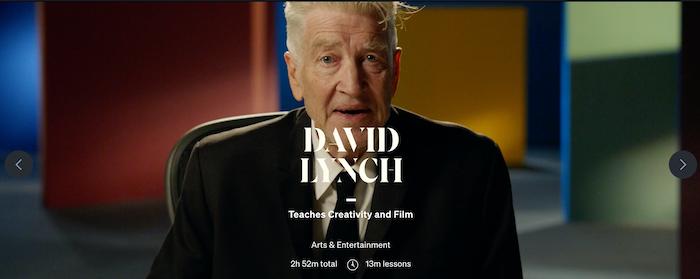MasterClass David Lynch