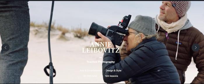 MasterClass Annie Leibovitz