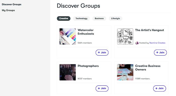 Skillshare Groups