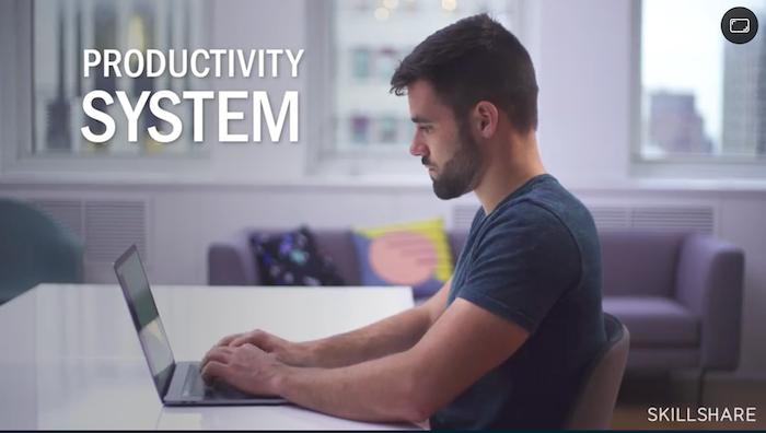 Skillshare Thomas Frank Productivity Masterclass