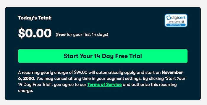 Skillshare free trial total