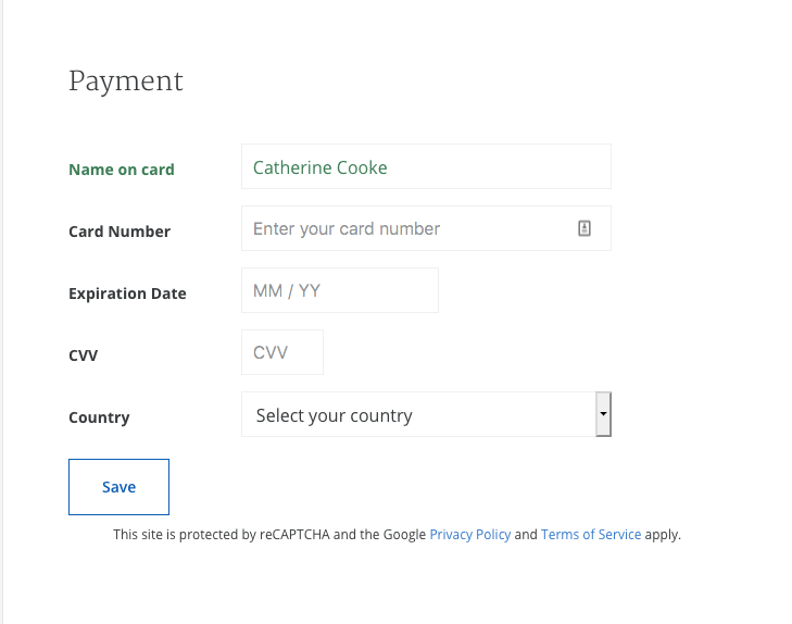 Coursera credit card payment