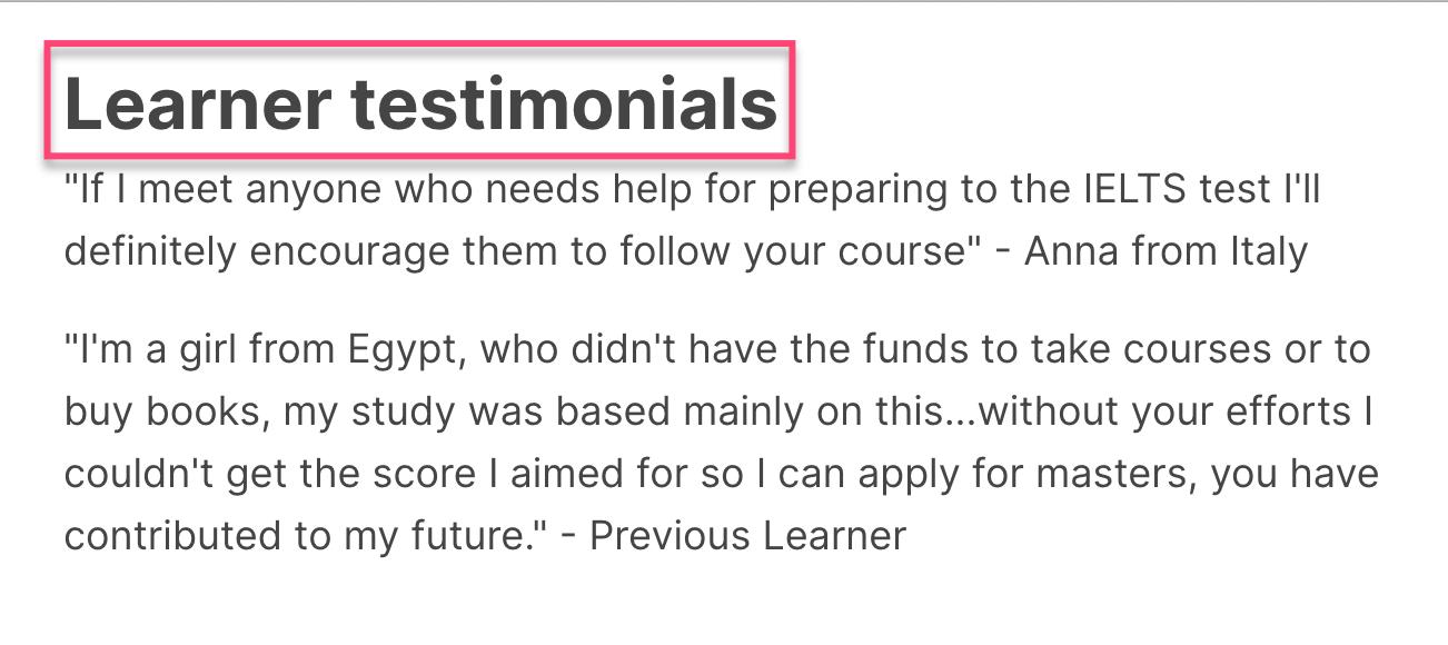 edX Learner testimonials