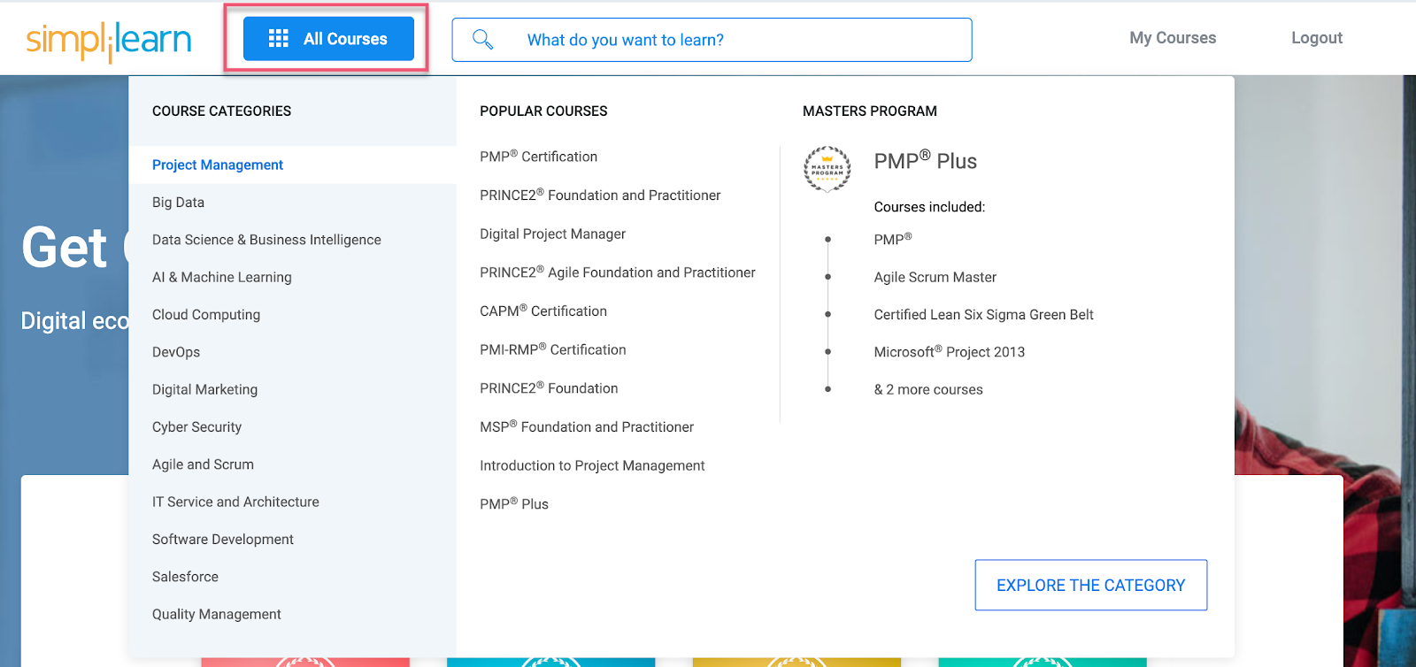 Simplilearn all courses