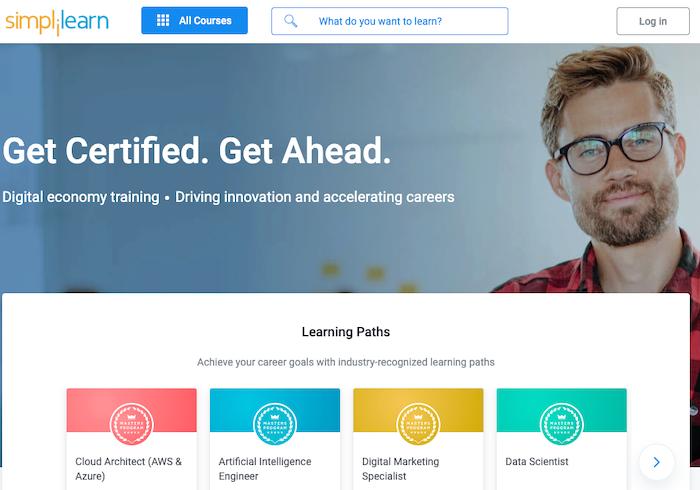 Simplilearn online leanring community