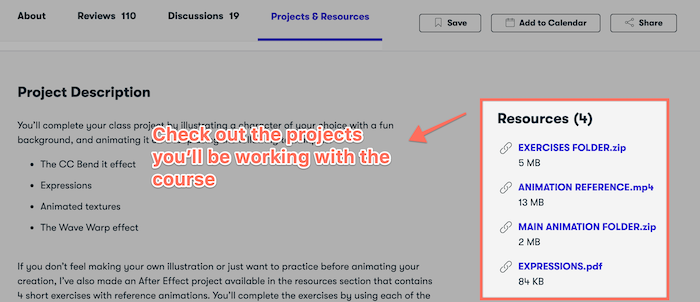 Skillshare course projects