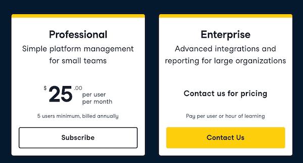 Datacamp-Professional and Enterprise