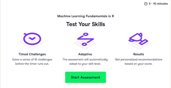 Datcamp Test your skills