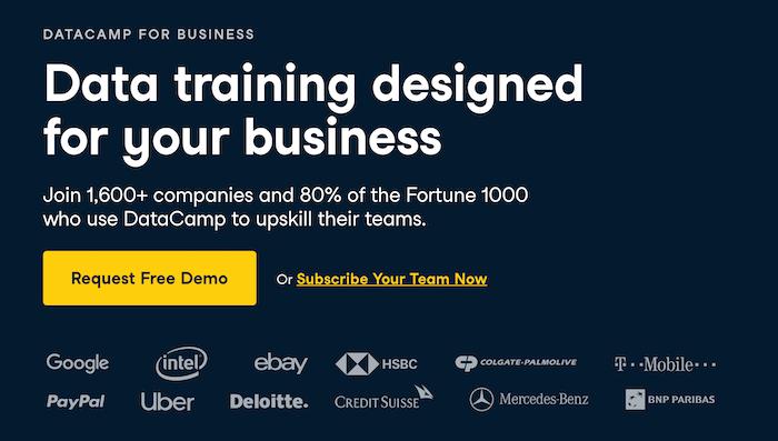 Datacamp for business