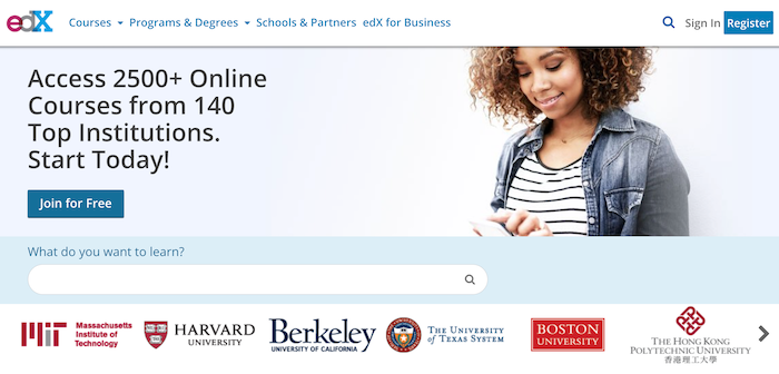 edX offers free courses