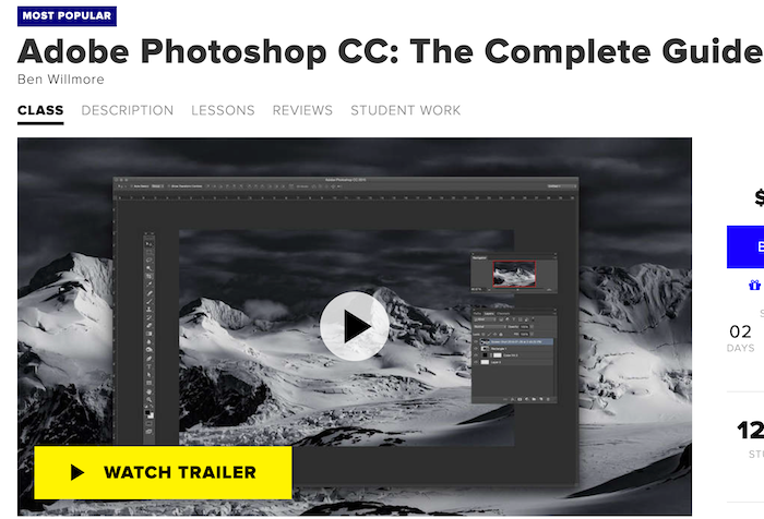 CreativeLive Adobe Photoshop CC: The Complete Guide