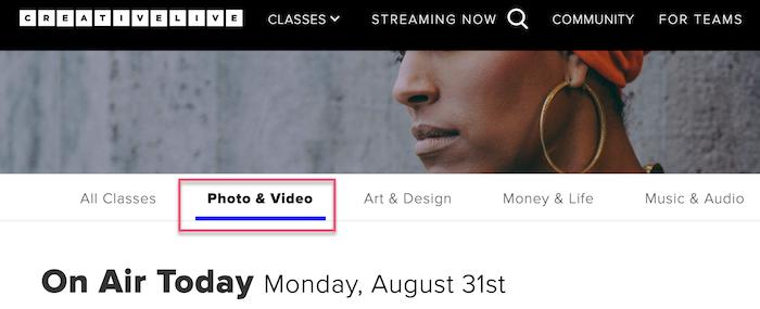 CreativeLive CLTV: Photo & Video