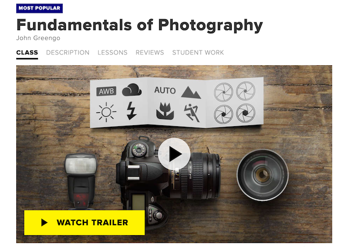 CreativeLive Fundamentals of Photography