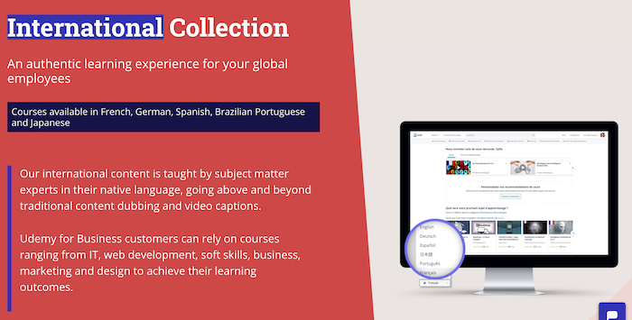 Udemy for Business International Collection