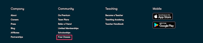 Find Skillshare Free Classes