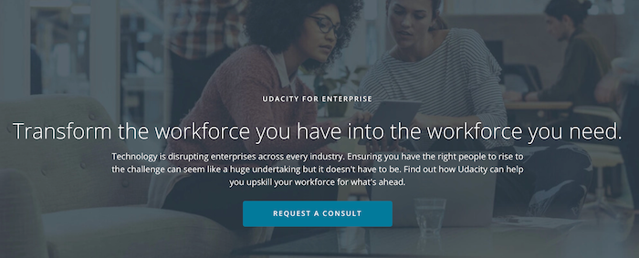 Udacity for Enterprise