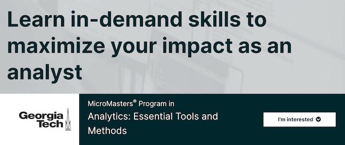 Data Analyst edX Courses
