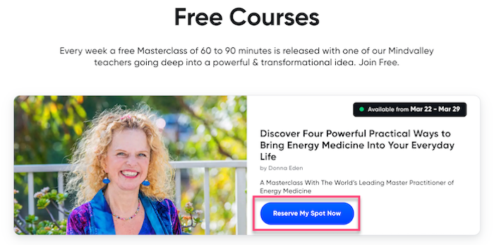 Free Mindvalley Courses