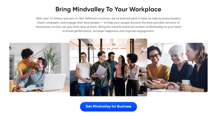 Mindvalley for Business