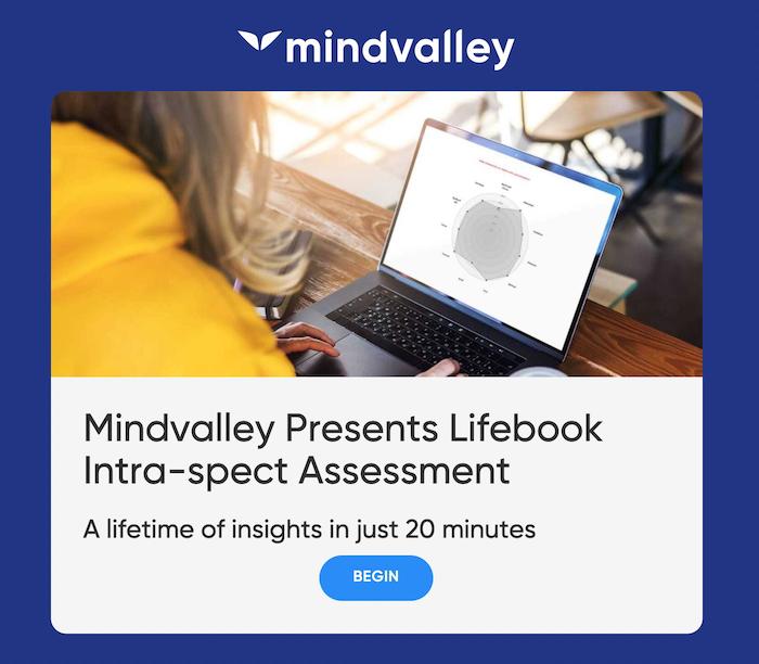 Mindvalley Life Assessment
