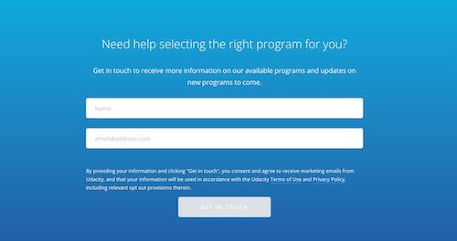 Udacity Find right platform