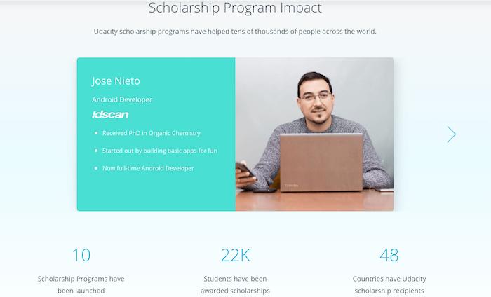 Udacity Scholarships