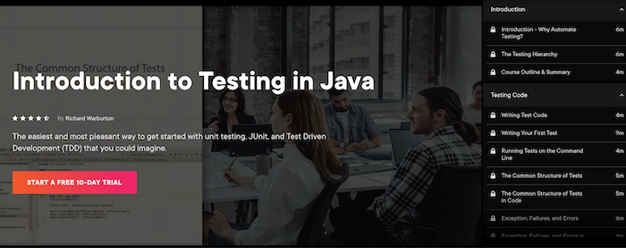 Pluralsight Introduction to Testing in Java