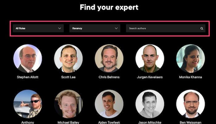 Pluralsight Find your expert