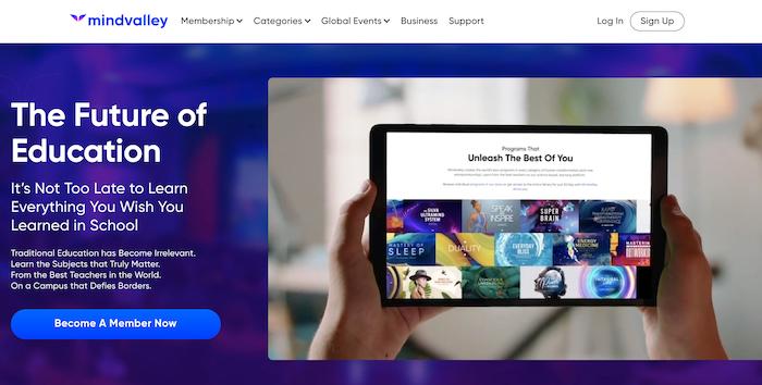 Mindvalley the alternative online learning platform