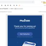 Open Plus500 account step 3